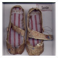 Childs Textile Sunday Shoes